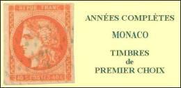 Monaco, Année Complète 1991, N° 1753 à N° 1809** Y Et T - Monaco