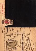 Ardoise Carton-Trésor De Santé LEROUX Véritable Super Chicorée-16 Cm X 21 - Publicités