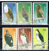 ZIMBABWE /Oblitérés/Used/1984 - Aigles - Zimbabwe (1980-...)