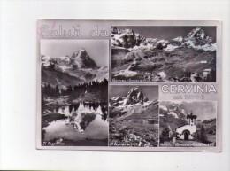 Cartolina Saluti Da Cervinia 1958 - Unclassified