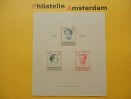 Luxembourg 1939, 20 ANN. JUBILEE CHARLOTTE: Mi 339-41, Bl. 3, ** - Ongebruikt