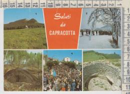 Capracotta Isernia  Vedute Processione 8 Settembre  Carbonaia Catozza Gara Di Sci Fondo - Isernia