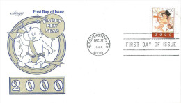 USA 1999 Wahington DC Happy New Year 2000 FDC Cover - Verenigde Staten