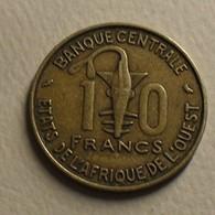 1974 - Afrique De L'Ouest - West African States - 10 FRANCS, BCEAO, KM 1a - Monnaies