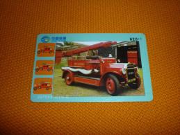 Fireman Firemen Fire Brigade Pompier - China Phonecard - Firemen