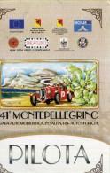 PASS PILOTA 41 MONTEPELLEGRINO GARA IN SALITA AUTOSTORICHE NUOVO - Corse Di Auto