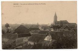 BROYES (51) - VUE PRISE SUR LA BUTTE DU CHATEAU DES PUCELLES - France