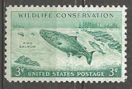 1956 3 Cents Salom, Wildlife, Mint Never Hinged - Stati Uniti