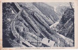 CPA Ligne Electrique De La Mure - Passage De La Rivoire Er Gorge Du Drac (1802) - France