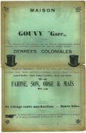 Gouvy - Denrées Coloniales - Werbung