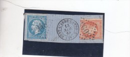 France - 1863-1870 Napoleon III With Laurels