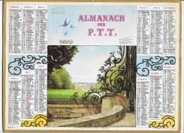 CALENDRIER - ALMANACH DES POSTES ET DES TELEGRAPHES - ANNEE 1970 - Département De SEINE ET MARNE - Calendriers