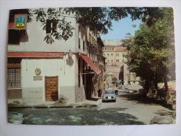 Postcard Postal Madrid Costanilla De San Andrés Al Fondo Plaza De La Cruz Verde - Madrid