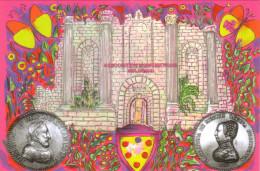 CARTE POSTALE ASSOCIATION NUMISMATIQUE MELDOISE HENRI II CATHERINE MEDICIS 1000 EX NEUVE MINT - Monnaies (représentations)
