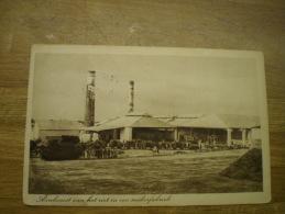 Ned. Indie (Indonesia) Aankomst Van Het Riet In De Suikerfabriek // 19?? - Indonésie