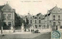 CPA 45 ORLEANS L HOTEL DE VILLE 1904 - Orleans