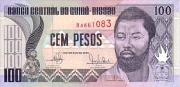 GUINEE BISSAU  100 Pesos Daté Du 1er Mars 1990   Pick 11     *****  BILLET  NEUF ***** - Guinea-Bissau