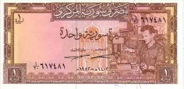 SYRIE   1 Syrian Pound   Daté De 1982   Pick 93 E      *****  BILLET  NEUF ***** - Syrie