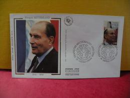 FDC- François Mitterrand 1916/1996 - 58 Château Chinon - 4.1.1997 - 1er Jour - FDC
