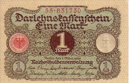 ALLEMAGNE  1 Mark  Daté Du 1er Mars 1920   Pick 58         *****  BILLET  NEUF ***** - [ 3] 1918-1933 : Weimar Republic