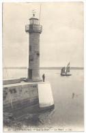Carte De Saint-Brieuc Avec Le Phare Sous-la-Tour - Carte En Franchise - 2 Scans - Postmark Collection (Covers)