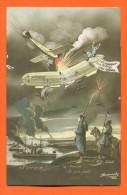 """CPA  Patriotique """"  Francais , Anglais , Russes : La Triple Entente  """" Zeppelin - Regiments"""