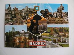Postcard/Postal - Madrid - Diversos Aspectos - Madrid
