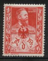 GERMANY 1941 THIRD REICH RDP HEINRICH VON STEPHAN PHILATELIC EXPO RED NHM POSTER STAMP CINDERELLA - Allemagne