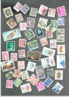 Divers Pays (voir Liste En Description)  Lot De 100 Timbres Oblitérés - Timbres