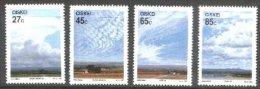 (10) Ciskei  Weather / Climate / Clouds / Wolken  ** / Mnh  Michel 211-14 - Ciskei