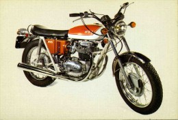 "CARTE POSTALE  MOTO   "" BSA  650 CM3    ""  ED MD  N° 1    CPSM  10X15 TTBE - Motociclismo"