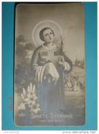 FB Dep.394 - S.STEFANO Martire - Anno 1937 MAIRAGO, Lodi - Santino Monocromo F.lli Bonella - Santini