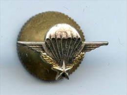 Insigne De Boutonnière Brevet Para Attache à Molette Ancien - Armée De Terre