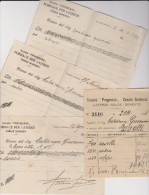 Laterizi Calce Cemento Casale Di Scodosia 1928--1930 Padova - Historical Documents