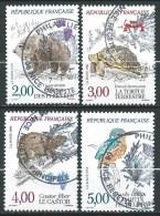 France - 1991 - Nature De France - N° 2721 à 2724   - Oblit - Used - Francia