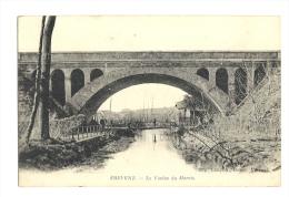 Cp, 62, Frévent, Le Viaduc Du Marais, écrite 1915 - Autres Communes