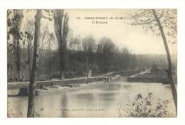 Cp, 77, Chalifert, L'Ecluse - Francia