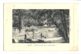 Cp, 85, Luçon, La Grande Pièce D'Eau, Jardin Public - Lucon