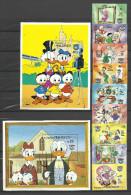 Walt Disney ** MNH  Maldives 968.75 + BF 98 + 102  Donald Duck - Disney