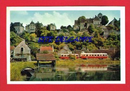 Yonne - Autorail Près CHATEL CENSOIR ( Chemin De Fer...Train...La Vie Du Rail...) - Autres Communes