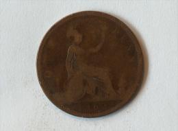 Grande-Bretagne 1 Penny 1862 - 1816-1901 : Frappes XIX° S.