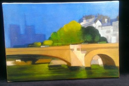 Oil On Canvas - Notre Dame - After Defossez - Huiles
