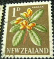 New Zealand 1960 Corynocarpus Laevigatus Karaka 1d - Used - New Zealand