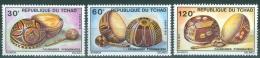 Chad 1976 Various Pyrographed Calabashes MNH** - Lot. 2330 - Chad (1960-...)