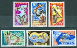 Chad 1965 Animals MNH** - Lot. 2337 - Chad (1960-...)