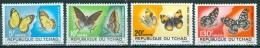 Chad 1967 Butterflies MNH** - Lot. 2338 - Chad (1960-...)