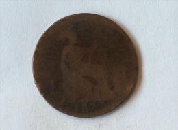 Grande-Bretagne 1 Penny 1877 - 1816-1901 : Frappes XIX° S.