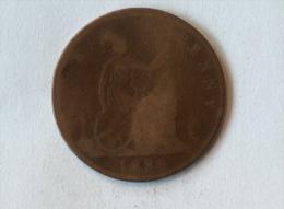 Grande-Bretagne 1 Penny 1888 - 1816-1901 : Frappes XIX° S.
