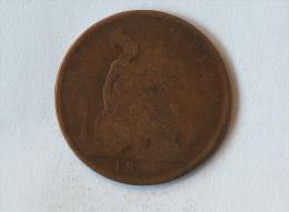 Grande-Bretagne 1 Penny 1882 H - 1816-1901 : Frappes XIX° S.