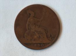 Grande-Bretagne 1 Penny 1890 - 1816-1901 : Frappes XIX° S.